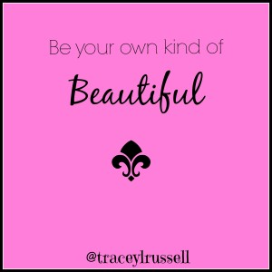 real beauty, just be you