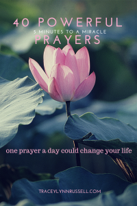 40 Powerful prayers blog post